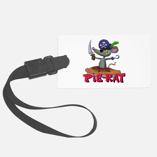 Pie-rat pirate Luggage Tag