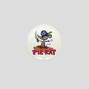 Pie-rat pirate Mini Button (10 pack)