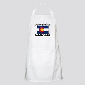 Fort Collins Colorado BBQ Apron