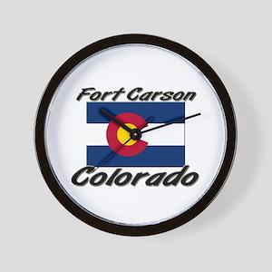 Fort Carson Colorado Wall Clock