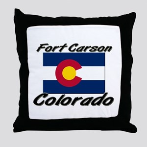 Fort Carson Colorado Throw Pillow