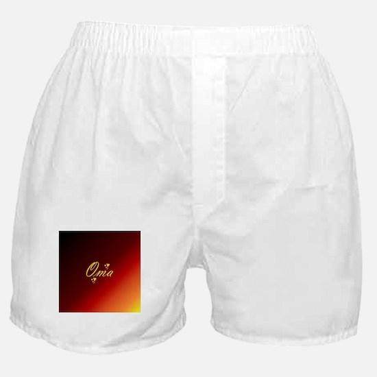 grandma oma Boxer Shorts