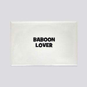 baboon lover Rectangle Magnet
