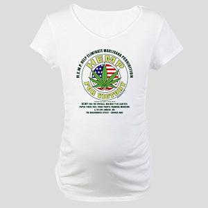 Hemp for Victory Maternity T-Shirt