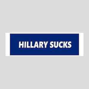 Hillary Sucks Wall Sticker