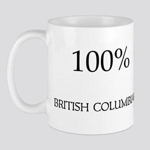 100% British Columbian Mug