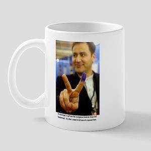 Victory for Democracy in Iraq Mug
