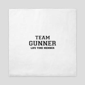 Team GUNNER, life time member Queen Duvet