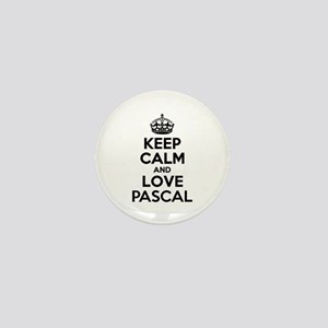 Keep Calm and Love PASCAL Mini Button