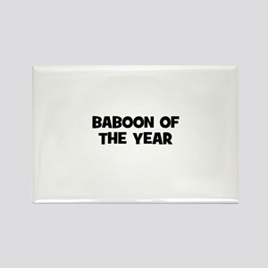 baboon of the year Rectangle Magnet