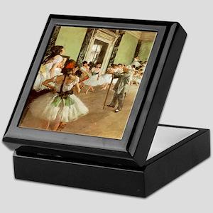 Degas Dance Class Keepsake Box