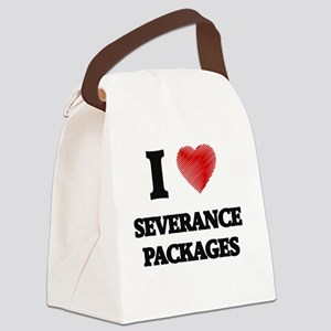 I Love Severance Packages Canvas Lunch Bag