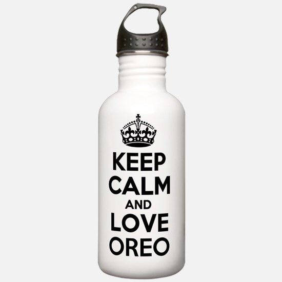 Keep Calm and Love ORE Water Bottle