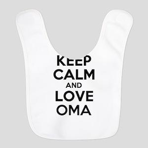 Keep Calm and Love OMA Bib
