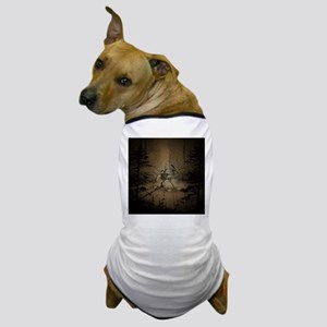 In the dar forest Dog T-Shirt