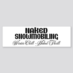 Winter Chill - Naked Thrill Bumper Sticker