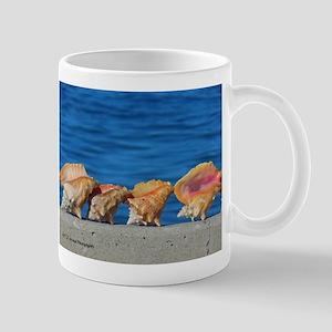 Bahamas Conch Shells 11 Oz Ceramic Mug Mugs