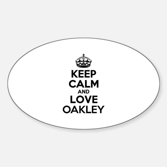 Keep Calm and Love OAKLEY Stickers