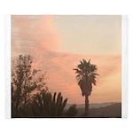 Palm Tree sunset King Duvet