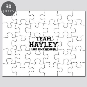 Team HAYLEY, life time member Puzzle