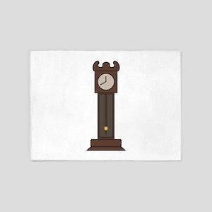 Grandfather Clock 5'x7'Area Rug