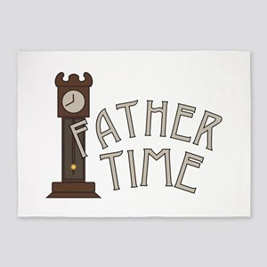 Father Time 5'x7'Area Rug
