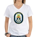 USS Thach (FFG 43) Women's V-Neck T-Shirt