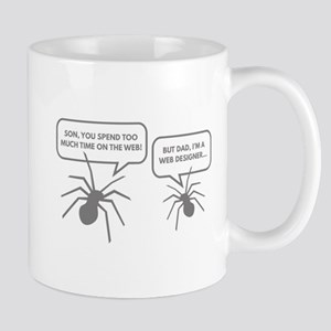 Too Much Time On The Web Mug