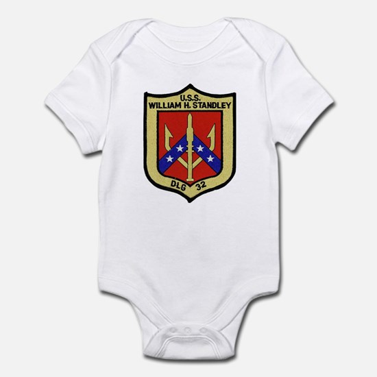 USS WILLIAM H. STANDLEY Infant Bodysuit