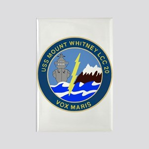 USS Mount Whitney (LCC 20) Rectangle Magnet