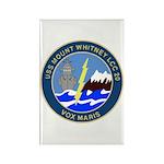 USS Mount Whitney (LCC 20) Rectangle Magnet (100 p