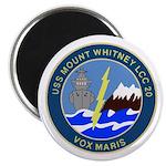USS Mount Whitney (LCC 20) Magnet