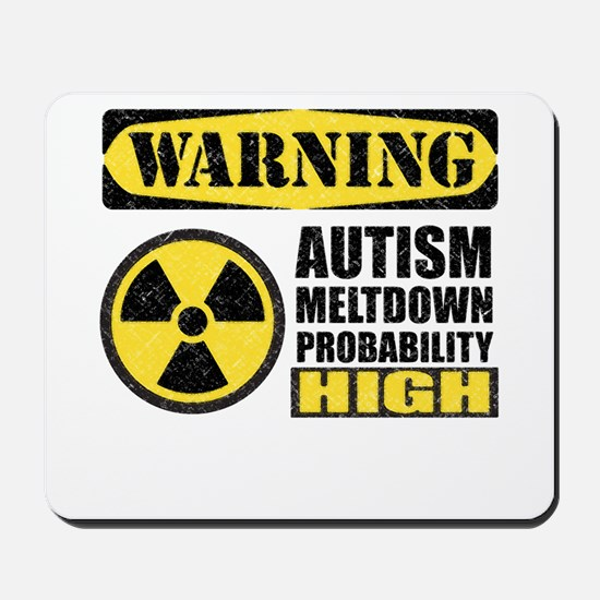 Autism Meltdown Probable Mousepad