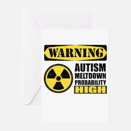 Autism Meltdown Probable Greeting Cards