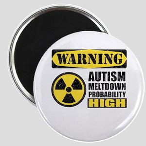 Autism Meltdown Probable Magnets