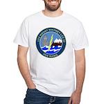 USS Mount Whitney (LCC 20) White T-Shirt