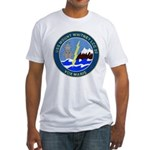 USS Mount Whitney (LCC 20) Fitted T-Shirt