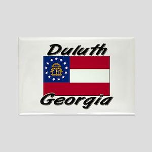 Duluth Georgia Rectangle Magnet