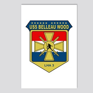USS Belleau Wood (LHA 3) Postcards (Package of 8)