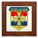 USS Belleau Wood (LHA 3) Framed Tile