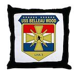 USS Belleau Wood (LHA 3) Throw Pillow