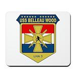 USS Belleau Wood (LHA 3) Mousepad