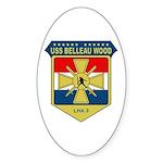 USS Belleau Wood (LHA 3) Oval Sticker