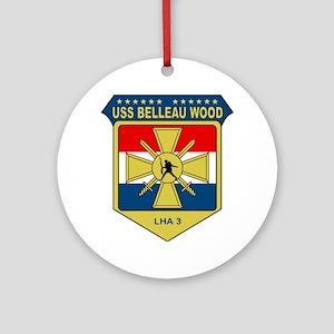 USS Belleau Wood (LHA 3) Ornament (Round)