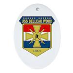 USS Belleau Wood (LHA 3) Oval Ornament