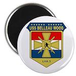 "USS Belleau Wood (LHA 3) 2.25"" Magnet (100 pack)"