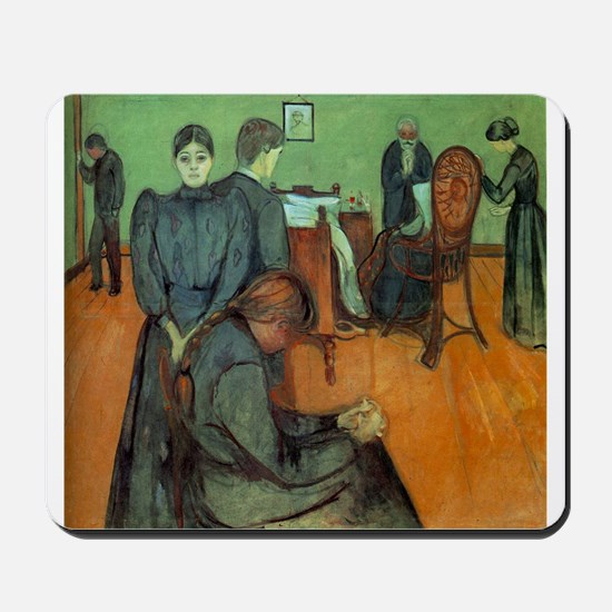 Munch Death in the Sickroom Mousepad