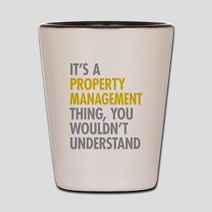 Property Management Shot Glass