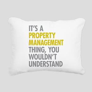 Property Management Rectangular Canvas Pillow