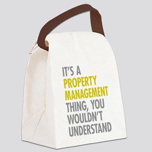 Property Management Canvas Lunch Bag